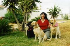 Con Alba, Dora e Caramella